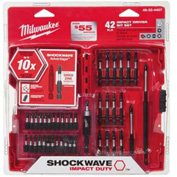 Milwaukee® 48-32-4407 42 Pc. Shockwave Impact Driver Bit Set