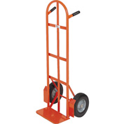 Modern Equipment MECO 252SP Curved Double Handle Hand Truck Semi-Pneumatic 500 Lb.