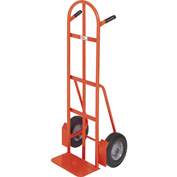 Modern Equipment MECO 292PN Curved Double Handle Hand Truck Pneumatic 600 Lb.
