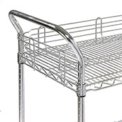 """21"""" Utility Cart Handle - Nexelate (Price Each, Package of 2) - Pkg Qty 2"""