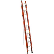 Werner 16' Type 1A Lightweight Fiberglass Extension Ladder 300 lb. Cap - D6416-2