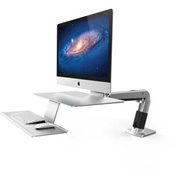 Ergotron® WorkFit-A Sit-Stand Workstation, For Apple