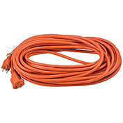 Global™ 50 Ft. Outdoor Extension Cord, 16/3 Ga, 13A, Orange