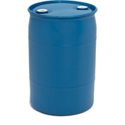 Mauser 30 Gallon Closed Tight-Head Plastic Drum POLY30TH - Blue