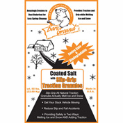 Bare Ground Coated Granular Blend Ice Melt W/Traction Granules, 45 Bags/Pallet CSSLGP-50