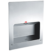 ASI® ADA Recessed Turbo Tuff Hand Dryer, 240V - 0134-2