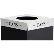 Square-Fecta™ 2990CZ Waste Receptacle Lid - Cans