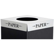 Square-Fecta™ 2990PA Waste Receptacle Lid - Paper