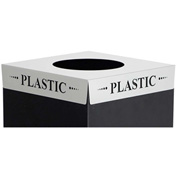Square-Fecta™ 2990PC Waste Receptacle Lid - Plastic
