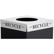 Square-Fecta™ 2990RE Waste Receptacle Lid - Recycle