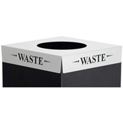 Square-Fecta™ 2990WA Waste Receptacle Lid - Waste