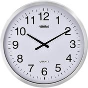 "Oversized Wall Clock - 20"" – Aluminum"