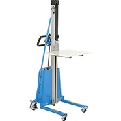 Battery Powered Office Work Positioner Lift Truck 330 Lb. Capacity
