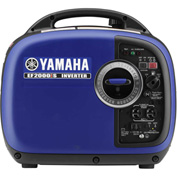 Yamaha EF2000iS Portable Inverter Generator, 2000 Watt 79cc OHV 4-Stroke Gas CARB Compliant