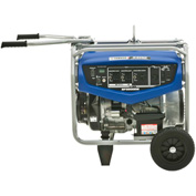 Yamaha EF5500DE Portable Generator, 5500 Watt 358cc OHV  Electric Start  Gas CARB Compliant