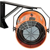 Salamander Heater – Electric Wall Mount Fan Forced - 240V 15 KW 3 Phase 36.1 Amps