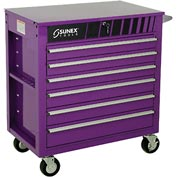 "Sunex Tools 8057P 34-1/2"" Heavy Duty Professional Purple Tool Cabinet"