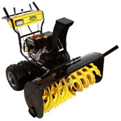 "GXI 45"" DEK Dual Stage Snow Blower, Fully Assembled Black/Yellow - 45SDM15FA"