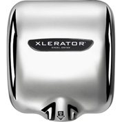 Xlerator® Hand Dryer, Chrome Plated 208-277V - XL-CV-208-277
