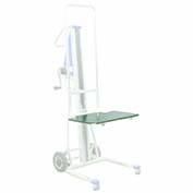 Optional Stainless Steel Platform 274530 for Wesco® Hand Winch Lift Truck