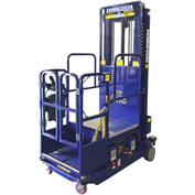 Drivable Power Stocker Lift, 18' Blue - PS-12D