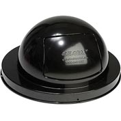 Global™ Steel Dome Top Lid - Black