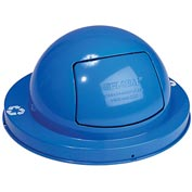 Global™ Steel Dome Top Lid - Blue
