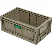 "Folding Transport Container KD2415-09 23-15/16""L x 15""W x 9-1/2""H Gray"
