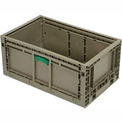 "Folding Transport Container KD2415-11 23-15/16""L x 15""W x 10-15/16""H Gray"