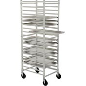 Nexel® PR2126 Pan Rack, Economy, Knock Down, End Loading, Aluminum