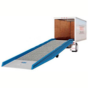 "Bluff® 20SYS7036L  + YRARC Steel Forklift Yard Ramp 36'L x 70""W 20,000 Lb. with Ramp Clamps"