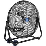 "24"" Portable Tilt Floor Fan- Direct Drive"