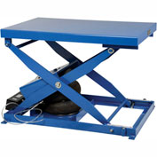 Vestil Air Bag Scissor Lift Table ABLT-2000 48 x 32 2000 Lb. Capacity