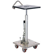 Vestil Stainless Steel Hydraulic Post Lift Table HT-02-1616A-PSS 16x16 200 Lb.