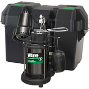 Wayne® WSS20V Pre-Assembled 1/3 HP Combination Primary & Battery Backup Sump Pump System