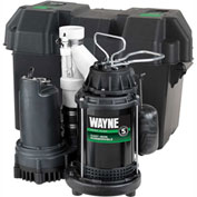 Wayne® WSS30V Pre-Assembled 1/2 HP Combination Primary & Battery Backup Sump Pump System