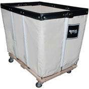 "18 BU-Std-Duty Basket Trucks By Royal - Cotton Canvas Liner - 32""Wx48""Dx36""H 4 Swivel Casters"