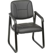 Interion™ - Bonded Leather Reception Chair