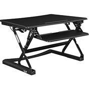 Interion® Ergonomic Sit and Stand Desk Platform