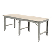 96 X 36 Extra Wide Open Leg Workbench Starter