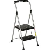 Werner 2 Step Steel Podium Step Stool, 225 lb. Cap - SP322-6
