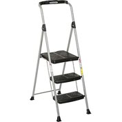 Werner 3 Step Steel Podium Step Stool, 225 lb. Cap - SP323-6