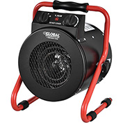 Portable Electric Garage Space Heater 1500 watt 120v With Thermostat Red