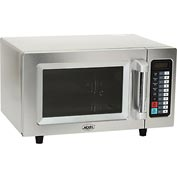 Nexel® Commercial Microwave Oven, 0.9 Cu. Ft., 1000 Watts, Touch Control, Stainless Steel