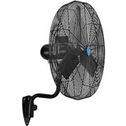 CD Premium 30 Inch Oscillating Wall Mount Fan 1/2 HP TEFC Motor, 11,500 CFM