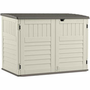 "Suncast 70 Cu Ft Stow-Away Horizontal Shed BMS4700 - 70-1/2""W x 44-1/2""D x 52""H"