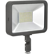 Global™ LED Flood Light, 50W, 4500 Lumens, 5000K, w/Knuckle Mount