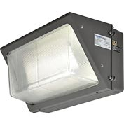Global™ LED Wall Pack, 75W, 6000 Lumens, 5000K