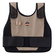 Ergodyne® Chill-Its® 6215HV Phase Change Cooling Vest, Khaki, L/XL