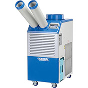 Industrial Portable Air Conditioner 1.1 Ton w/ Cold Air Nozzles 13,200 BTU, 115V